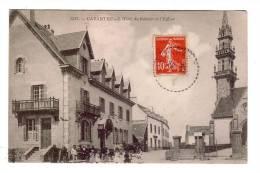 CARANTEC/29/L´hôtel Du Kelenn Et L´église/Réf:3556 - Carantec