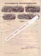 Brief 1904 - ALTKLOSTER - WERTHEIM - KOHLHAUS - NIEDERKAUFFUNGEN - Wintersche Papierfabrieken - Imprimerie & Papeterie