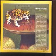 MICRONESIA   384  MINT NEVER HINGED SOUVENIR SHEET OF MUSHROOMS  ; FROG - Pilze