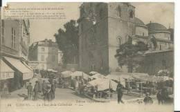 46 - LOT - CAHORS - Marché Place De La Cathedrale  (un Coin Cassé) - Cahors