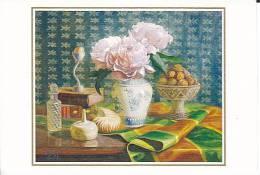 """Reproduction D´une Peinture De Cheng-Long Liu """"Nature Morte Aux Pivoines"""" - Peintures & Tableaux"""