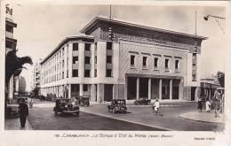 Morocco Casablanca La Banque d'Etat Du Maroc Bank 1943 Real Phot