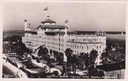 Bahamas Nassau British Colonial Hotel Real Photo RPPC