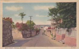 Bahamas Nassau West Street Curteich