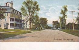 Maine Andover Main Street