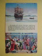 Le Mayflower. - Histoire