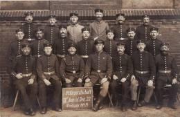 GLEIWITZ, 21 Korporalschaft IV Komp. Inf. Reg. 22 Kriegsjahr 1914 / 15 - War 1914-18