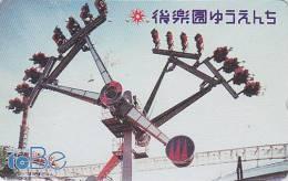 Télécarte Japon - PARC D´ATTRACTION TOBE - AMUSEMENT PARK Japan Phonecard - VERGNÜGUNGSPARK  - ATT 129 - Jeux