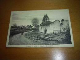 CPA Belgique 1914-1916 Rosiere La Grande - Maison Détruite N° 728 - Port Simple Gratuit - Ramillies
