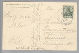 Heimat DE Bahnlinie Fröttstädt-Geopfaden 1912-06-07 Nach Eisenach - Allemagne