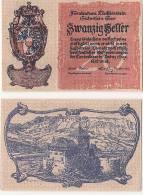 LIECHTENSTEIN - 20 HELLER 1920 - PICK. 2 - Liechtenstein
