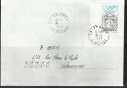 Année 1993, N° 2796, Le Droit Humain, Cachet De FRANCS - France