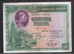 500 Pesetas 1928 - Spagna
