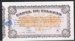 1000 Pesetas 1977 Papel Fianzas - Sin Clasificación