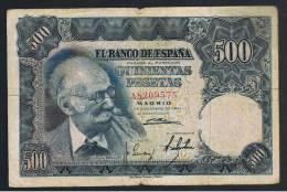 500  Pesetas 1951 - Spagna