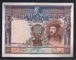 1000  Pesetas 1925 - Sin Clasificación