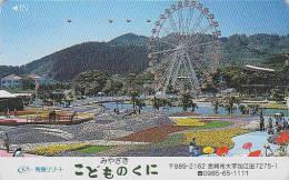 Télécarte Japon - PARC D´ATTRACTION - Grand Huit - AMUSEMENT PARK Japan Phonecard - VERGNÜGUNGSPARK - ATT 162 - Jeux