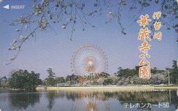 Télécarte Japon - PARC D´ATTRACTION - AMUSEMENT PARK Japan Phonecard ** ONE PUNCH ** - VERGNÜGUNGSPARK - ATT 167 - Jeux