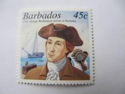 2-1581 Explorateur Marin George Washington Président USA Tonneau - George Washington