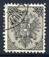 BOSNIA & HERZEGOVINA 1895 ½ Kr. Perforated 11½,  Fine Used.  Michel 9 II C,  SG 106 - Bosnia And Herzegovina