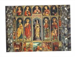 06-Retable Attribué à Antoine Bréa . Eglise Ste Marie Madeleine De Contes.( V. 1550) - Arts