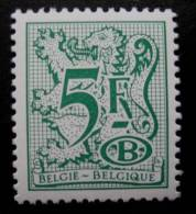 België Dienstzegel 1980 D80 Polyvalent Papier - Officials