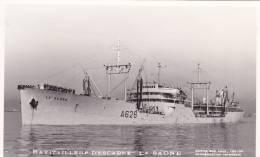 RP: Steamship Ravitailleur D'Escadre La Saone, France - Paquebote