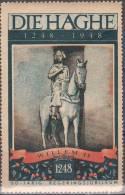 Den Haag Vignet 1948 Postfris MNH Willem 2 - Erinnofilie