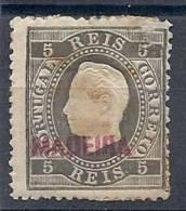 130101938  MADEIRA  C.P.  PORTUGAL. YVERT  Nº  6  *  MH - Madeira