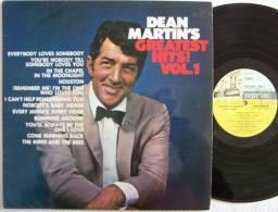 Dean MARTIN'S LP ORIGINAL Everybody Loves Somebody EX EX (ENGLAND) Parfait état - Disco, Pop