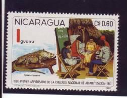 Nicaragua YV ? N 1981 Iguane - Autres
