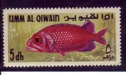 Arabie Du Sud Est (UAQ) YV ? N 1972 Poisson - Pesci