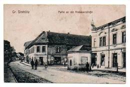 Germania Germany Gr. Strehlitz  Partie And Krakauerstrabe - Old Postcard - Deutschland
