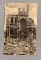 36307   Belgio,   Ruines  De  Louvain  -  Eglise  St.Pierre  Vue  Des  Sept  Coins.,  NV - Leuven