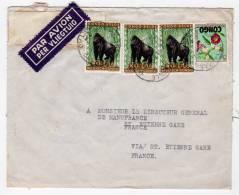 CONGO BELGE - LETTRE  Du 14/08/1962 - République Du Congo (1960-64)