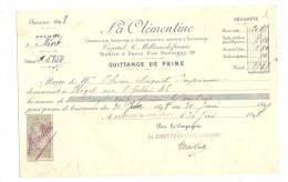 Lettre De Change, La Clémentine - Niort (79) - 1898 - Lettres De Change