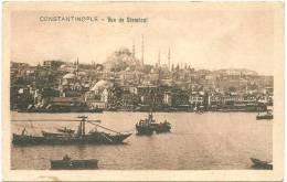 TURKEY TURQUIE CONSTANTINOPLE ISTANBUL VUE DE STAMBOUL -G - Turquia