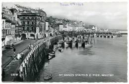 WHITBY : ST ANNES STAITHS & PIER - Whitby