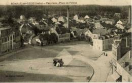 10 ROMILLY-SUR-SEINE - Panorama - Place De L'Union - Animée - Romilly-sur-Seine