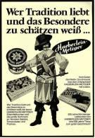 Reklame Werbeanzeige  Haeberlein-Metzger  -  Lebkuchen Schokolade Pralinen , Von 1975 - Andere Sammlungen