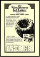 Reklame Werbeanzeige  Dr. Oetker  -  Moderne Köstlichkeiten , Von 1968 - Andere Sammlungen