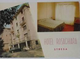 VERBANIA - Stresa - Hotel Rosachiara - 2 Vedute - Verbania