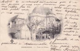 CPA De BARBEZIEUX (16)  Tours Du Château - Carte Précurseur 1902 - édit CCCC - Autres Communes