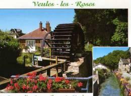 76 VEULES LES ROSES Le Moulin Anquetil Sur La Veule Le Plus Petit Fleuve De France 1100m - Veules Les Roses