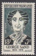 Frankreich 1957. Press. G. Sand, Zeitungsmitarbeiterin (B.0380) - France