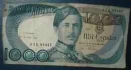 PORTUGAL.Billet De 1000 Escudos.Dans L´etat - Portugal