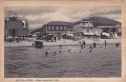 PIETRA LIGURE -BAGNI PENSIONE ORFEO BELLA FOTO D´EPOCA ORIGINALE 100% - Savona