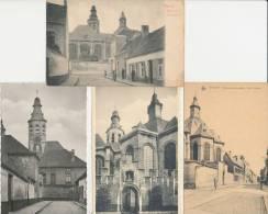 Vilvoorde - 4 Kaarten Troost Basiliek - Leuvense Straat - Vilvoorde