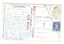 Canada Marque Postale Paiement Insuffisant - Lettres & Documents