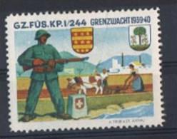 FP 63 - FELDPOST Troupes De Frontières GZ. FÜS. KP. I/274 Thèmes Agriculture Bovin, Usines - Vignettes